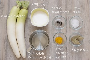 Danmuji Ingredients