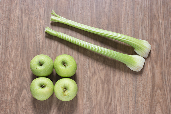 Green Apple Celery Juice Ingredients