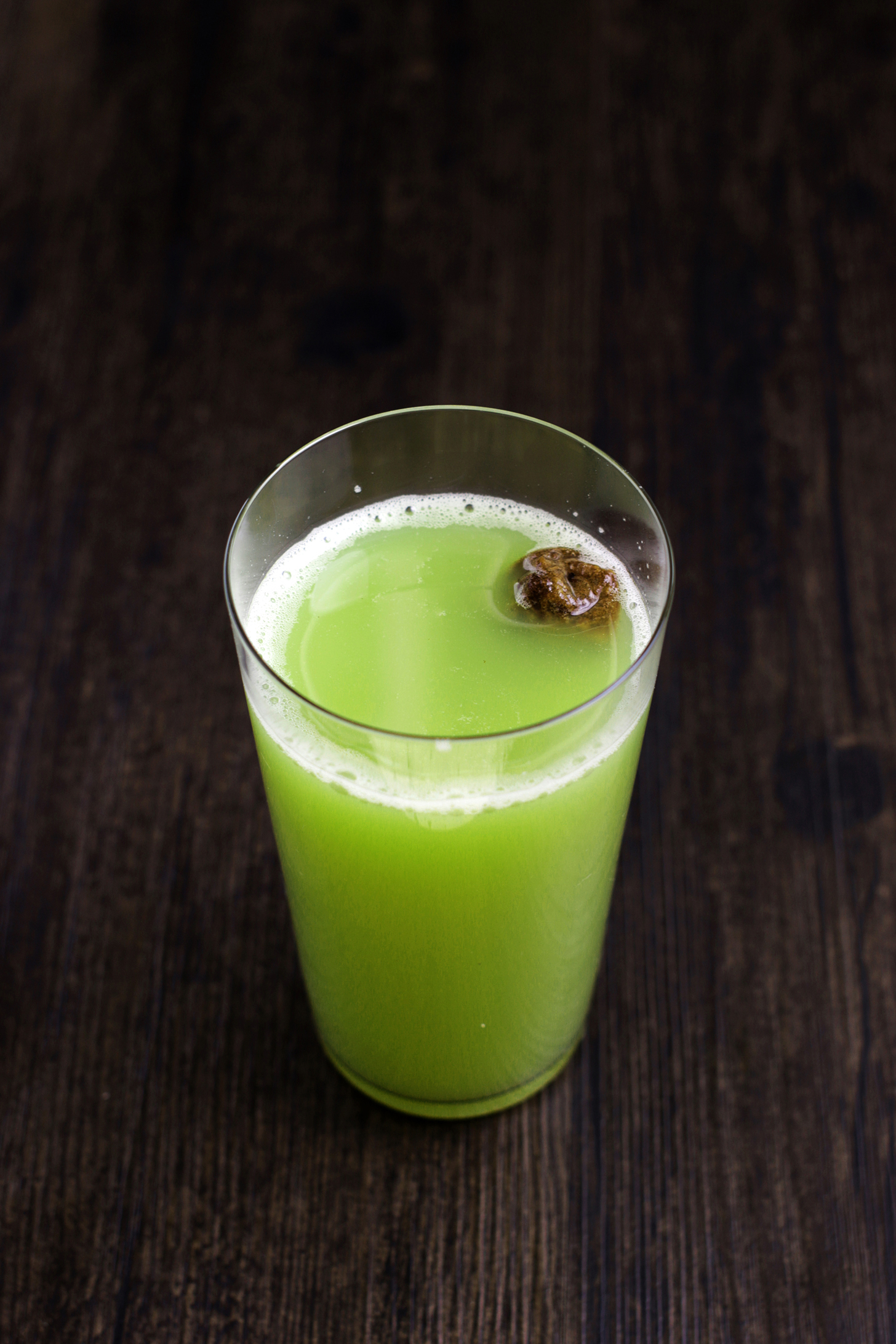 Green Apple Juice with Sour Plum