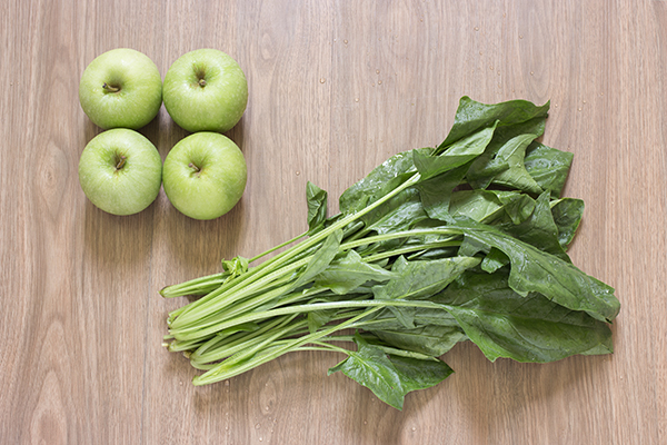 Green Apple Spinach Juice Ingredients