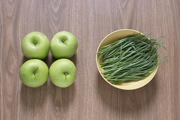 Green Apple Wheatgrass Juice Ingredients