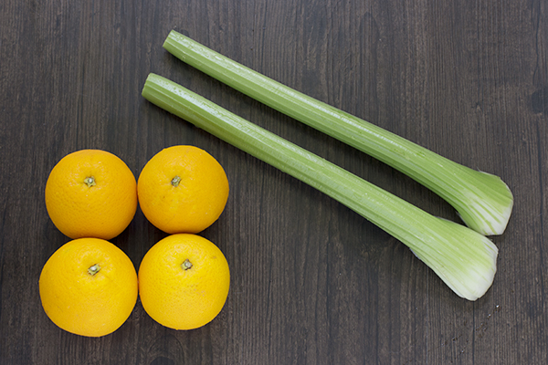 Orange Celery Juice Ingredients