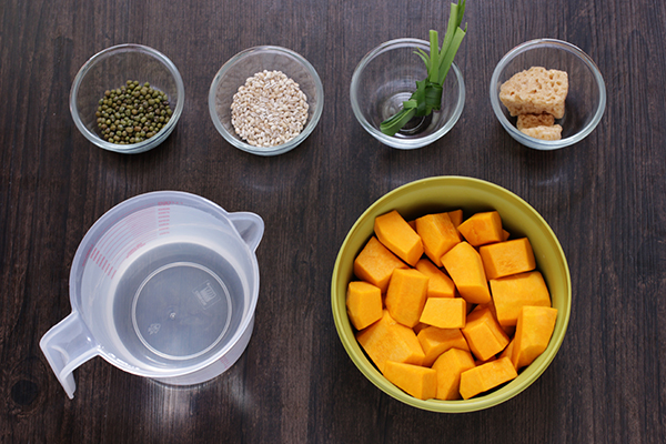 Pumpkin Barley Drink Ingredients