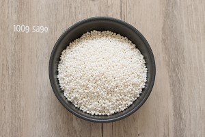 Sago ingredients