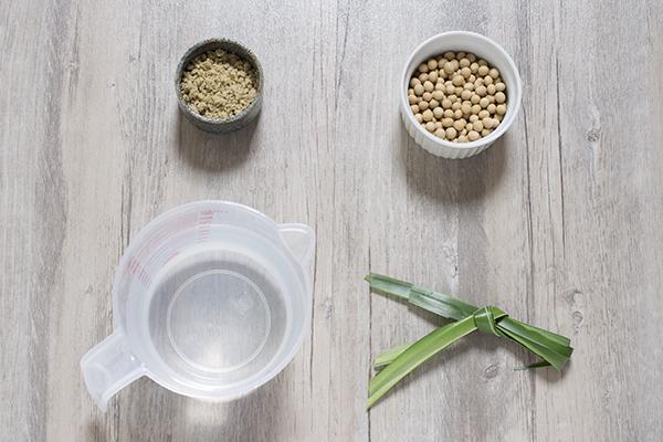 核桃豆浆材料