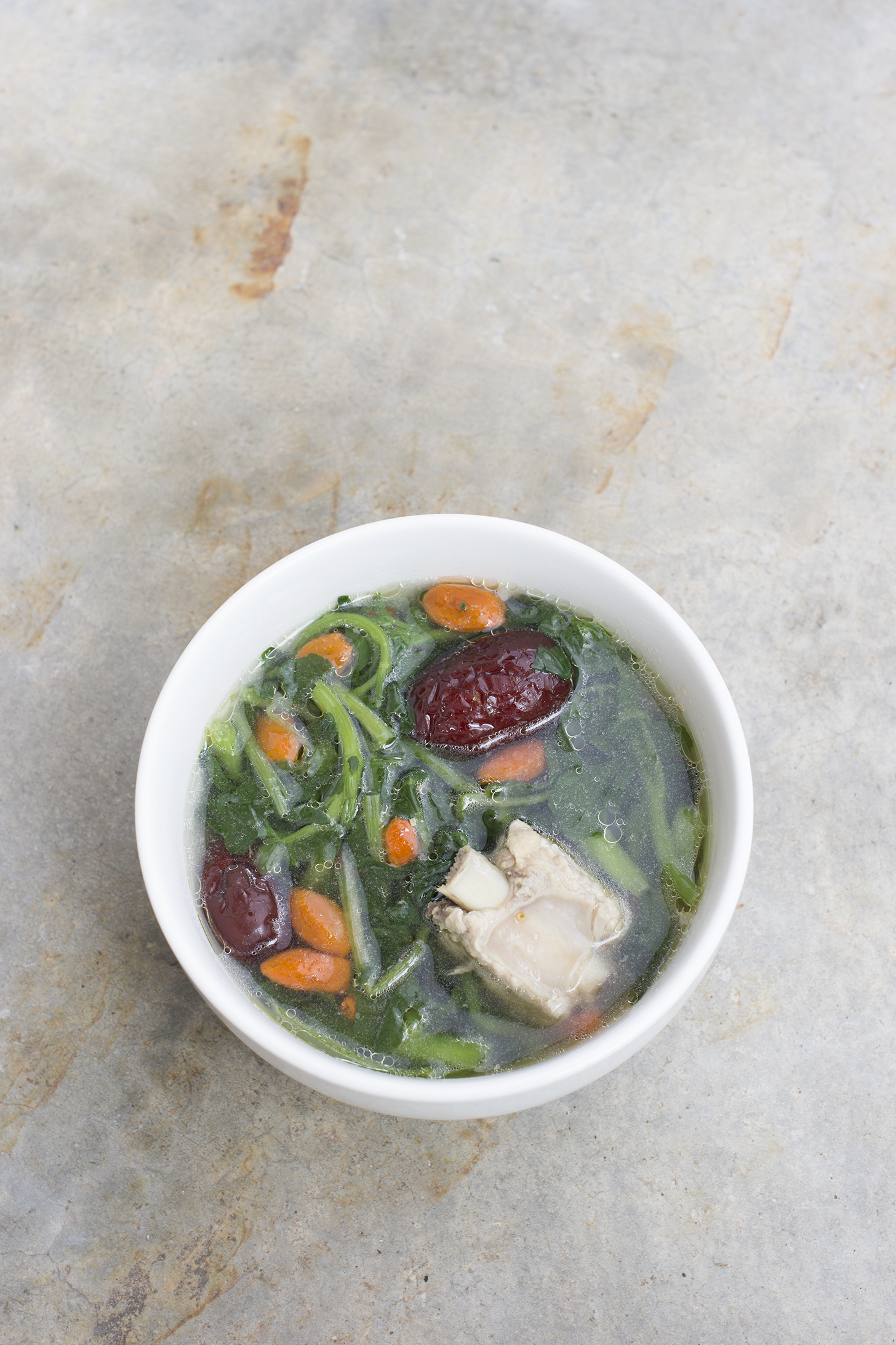 Watercress Pork Rib Soup